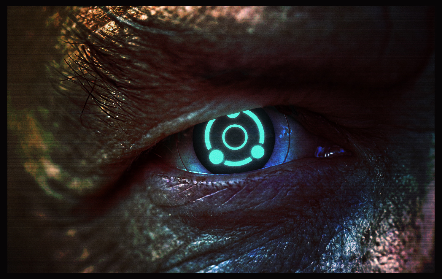 Ghost Eye (Mass Effect 2) by AlexCooperArt