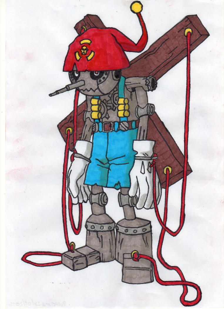 Puppetmon by BardockArt