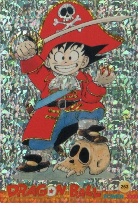Dragon Ball Laser Card 263 by BardockArt