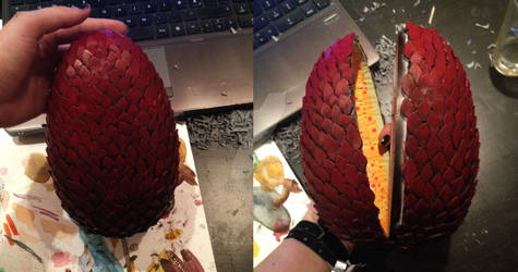 GoT: Dragon egg commission