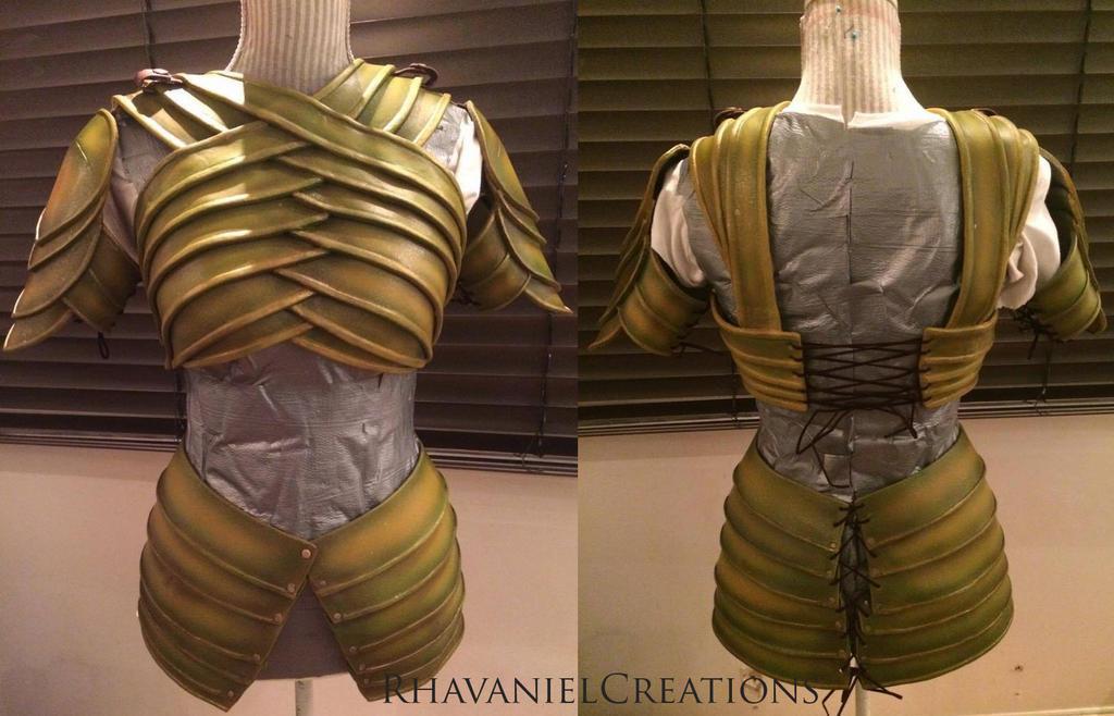 Rivendell High Elven Armor By Rhavanielcreations On Deviantart