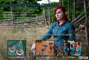 Dragon Age themed giveaway!