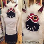 Mononoke costume by RhavanielCreations