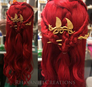 Lavellan wig with bling