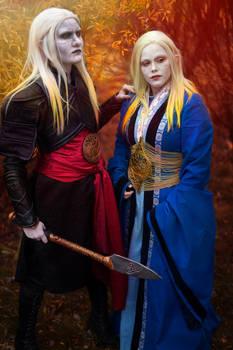 Elven twins of Bethmoora