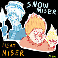 The Miser Brothers by MetalImageryKinetics