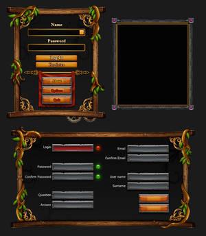 Game interface dialog