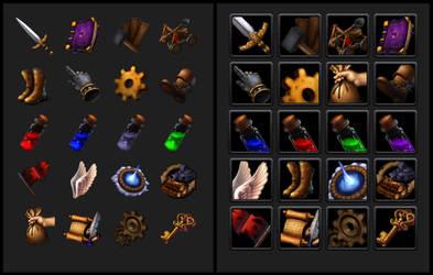Fantasy Game Icons 2 by Rav3nway