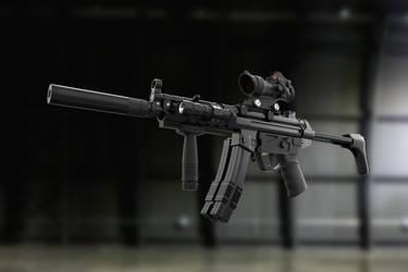 Navy MP5_1 by Rav3nway