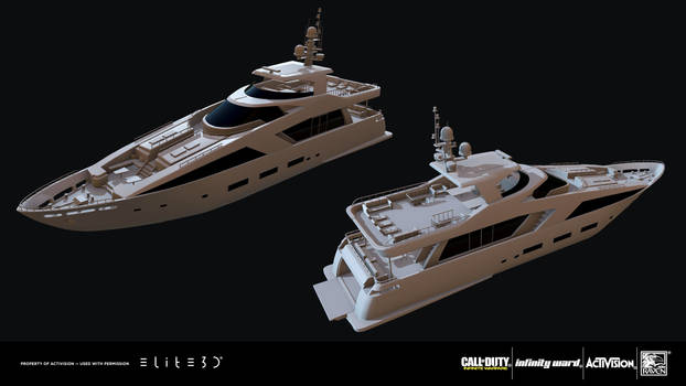 Call of Duty: Infinite Warfare - Geneva yacht