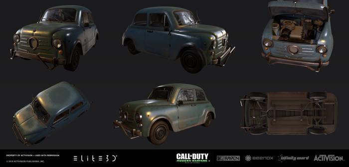 Call of Duty: Modern Warfare Remastered - Iraq car