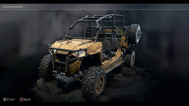 Polaris ATV PlayStation 5 game ready model