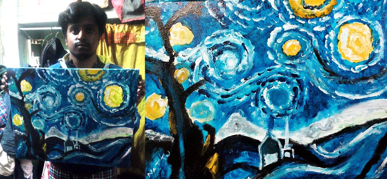 starry night by Artsouls143