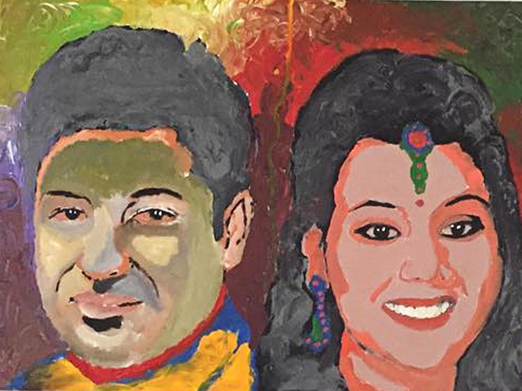 Ishan wed ramya by Artsouls143