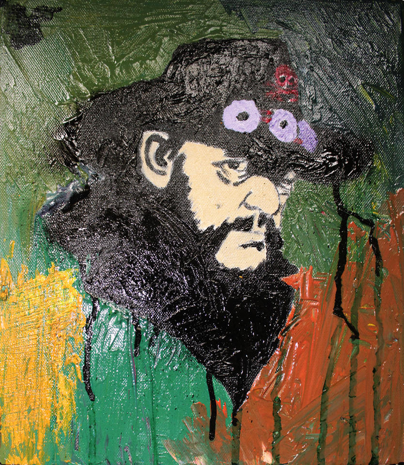 Lemmy Kilmister by Artsouls143