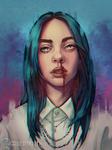 Billie Eilish - #SixFanarts