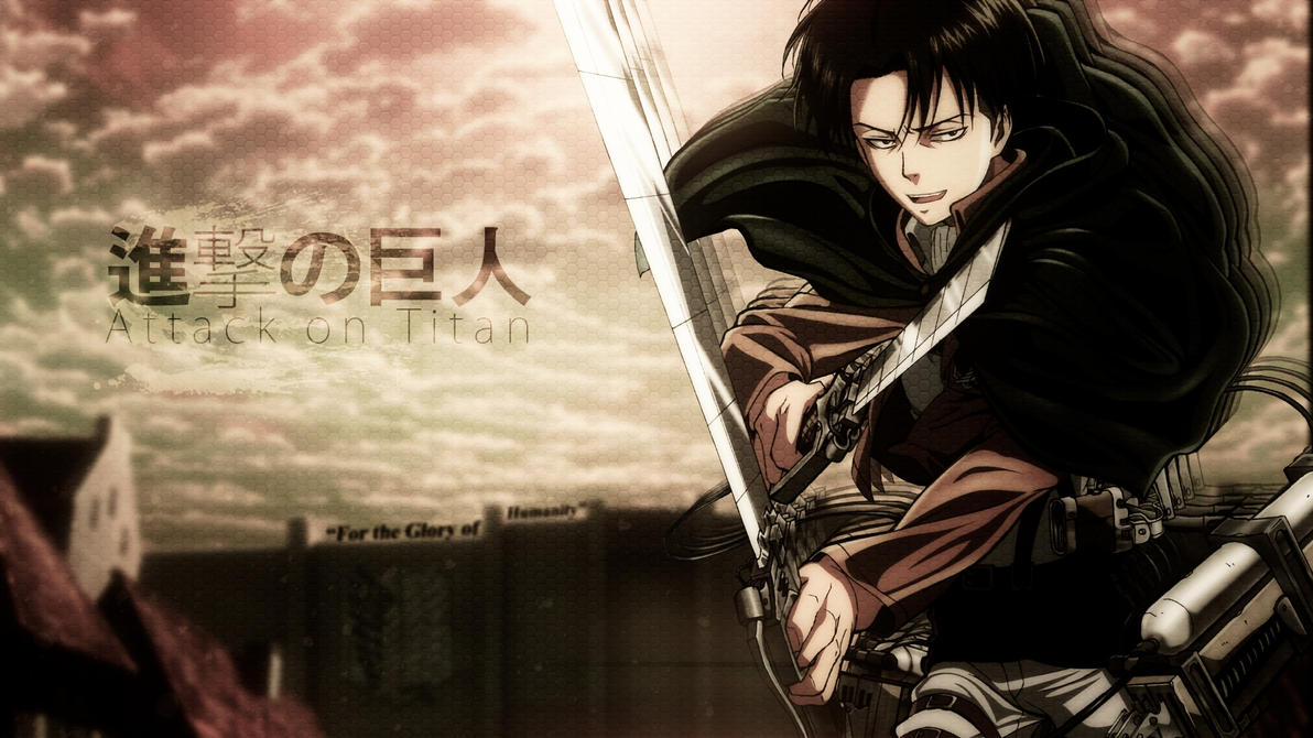 Levi Attack on Titan Wallpaper 1920x1080 by Citnas on ...