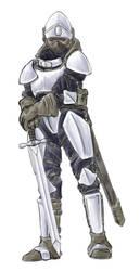 Knight - Watercolour