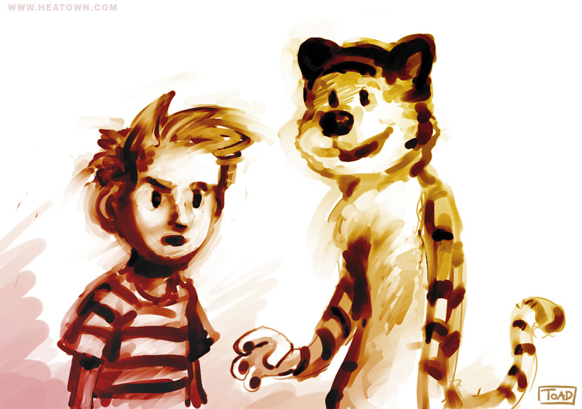 Calvin and Hobbes by Tohad