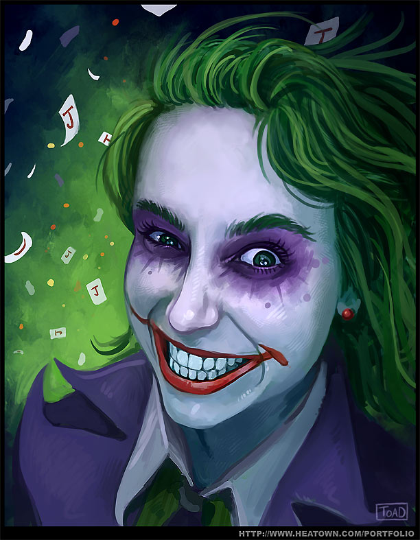Miss Joker by Tohad