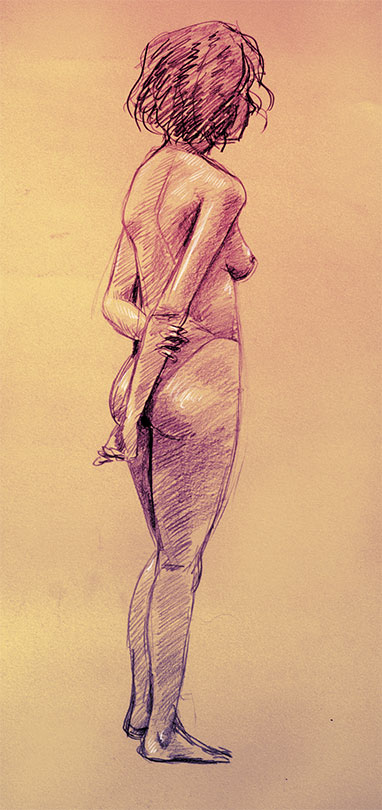 Nude 09 by Tohad