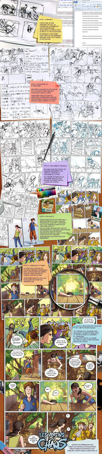 Comic page tutorial
