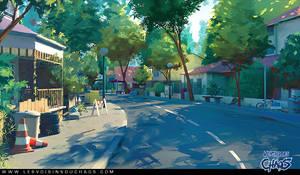 Heatown streets