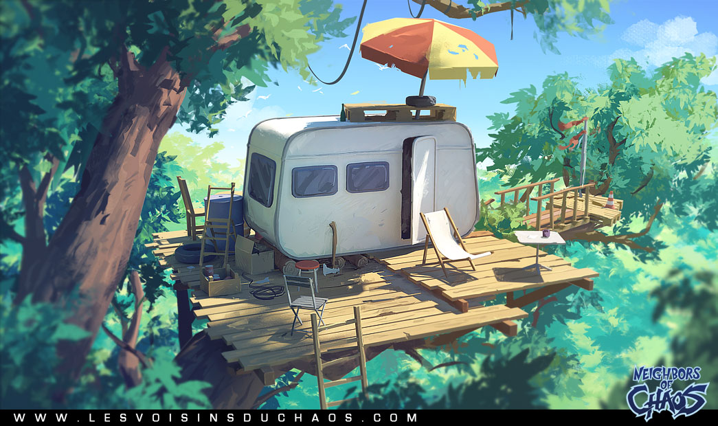 Aperitif In The Trees By Tohad On Deviantart