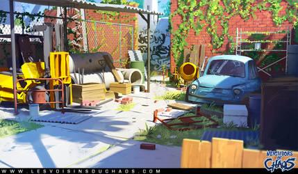 Yard by Tohad
