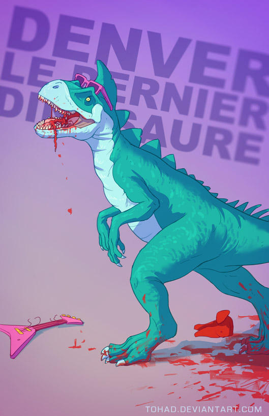 Denver the last dinosaur BADASS