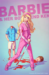 Barbie and Ken BADASS by Tohad