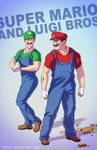 Mario and Luigi BADASS