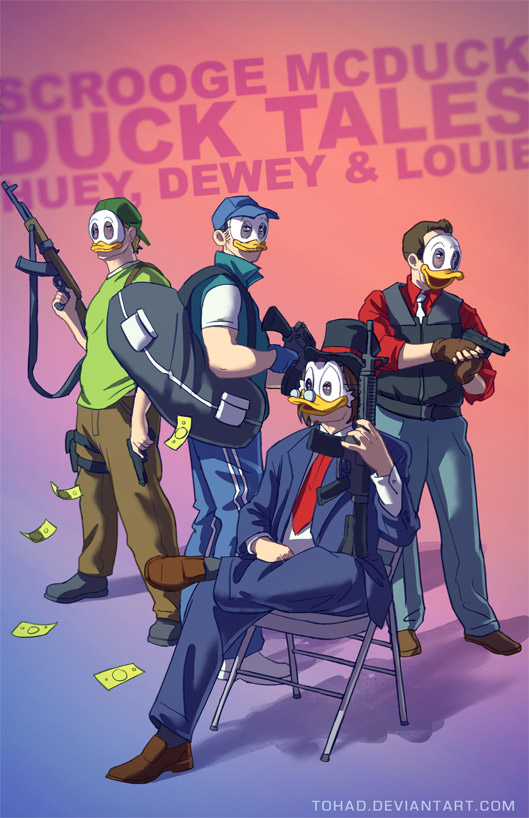 DuckTales BADASS by Tohad