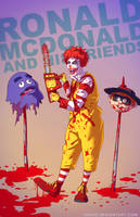 Ronald McDonald BADASS by Tohad