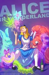 Alice in Wonderland BADASS by Tohad