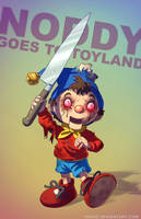 Noddy in Toyland BADASS by Tohad