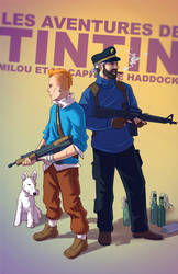 Tintin BADASS by Tohad