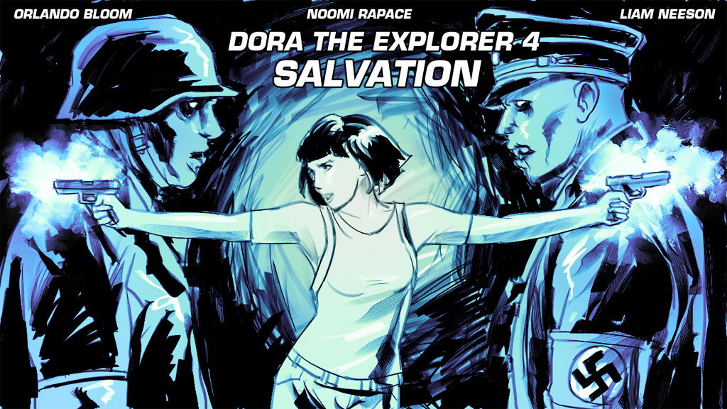 Dora the explorer SALVATION by Tohad