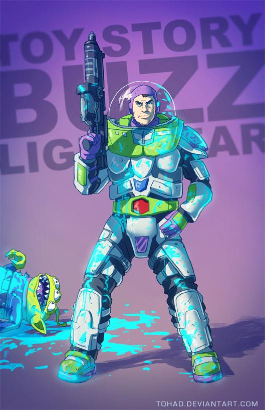 Buzz Lightyear BADASS