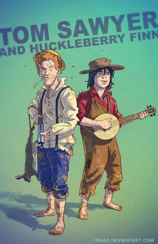 Tom Sawyer BADASS by Tohad on DeviantArt  Huckleberry