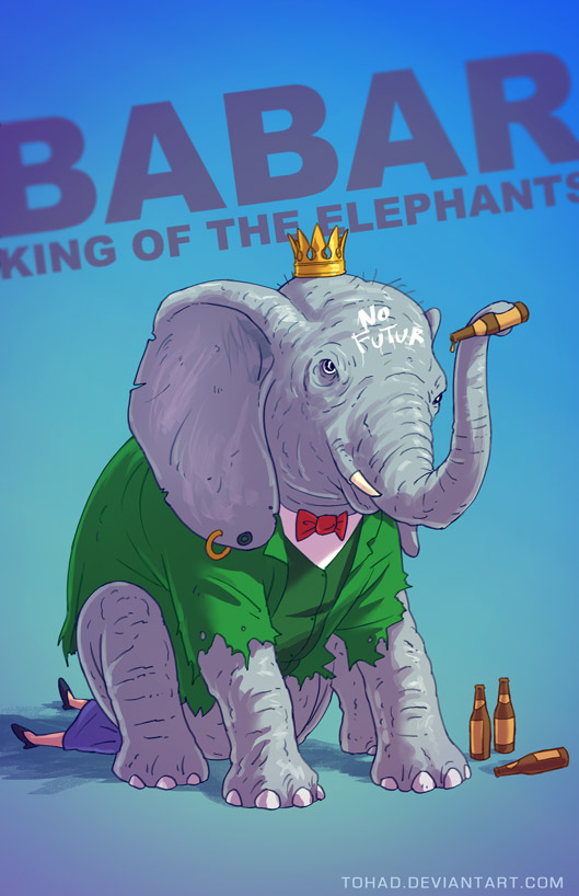 babar badass by tohad on deviantart