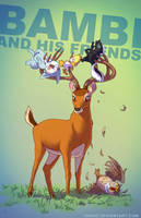 Bambi BADASS by Tohad