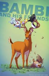 Bambi BADASS by Tohad