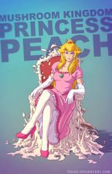 Princess Peach BADASS by Tohad