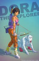 Dora the explorer BADASS by Tohad