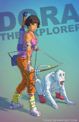 Dora the explorer BADASS by Tohad