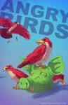 Angry Birds BADASS