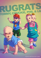 Rugrats BADASS by Tohad