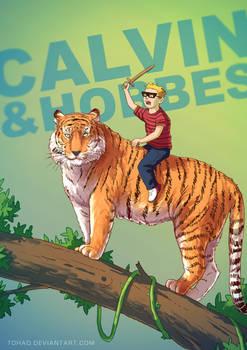 Calvin and Hobbes BADASS