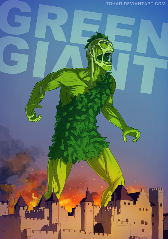 Green Giant BADASS by Tohad on DeviantArt